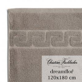 Christian Fischbacher Osuška velká 120 x 180 cm béžovošedá Dreamflor®, Fischbacher