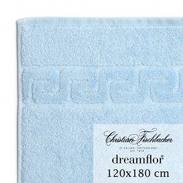 Christian Fischbacher Osuška velká 120 x 180 cm nebesky modrá Dreamflor®, Fischbacher