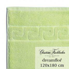 Christian Fischbacher Osuška velká 120 x 180 cm světle zelená Dreamflor®, Fischbacher