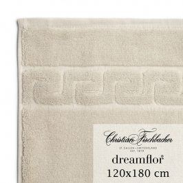 Christian Fischbacher Osuška velká 120 x 180 cm písková Dreamflor®, Fischbacher