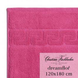 Christian Fischbacher Osuška velká 120 x 180 cm purpurová Dreamflor®, Fischbacher