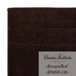 Christian Fischbacher Ručník pro hosty velký 40 x 60 cm mokka Dreamflor®, Fischbacher