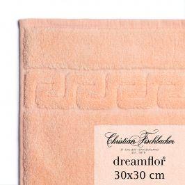 Christian Fischbacher Ručník na ruce/obličej 30 x 30 cm lososový Dreamflor®, Fischbacher