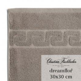 Christian Fischbacher Ručník na ruce/obličej 30 x 30 cm béžovošedý Dreamflor®, Fischbacher