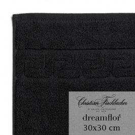 Christian Fischbacher Ručník na ruce/obličej 30 x 30 cm černý Dreamflor®, Fischbacher