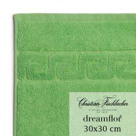 Christian Fischbacher Ručník na ruce/obličej 30 x 30 cm zelený Dreamflor®, Fischbacher