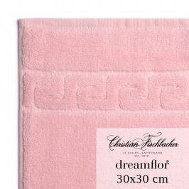 Christian Fischbacher Ručník na ruce/obličej 30 x 30 cm růžový Dreamflor®, Fischbacher