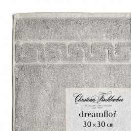 Christian Fischbacher Ručník na ruce/obličej 30 x 30 cm grafitový Dreamflor®, Fischbacher