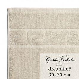Christian Fischbacher Ručník na ruce/obličej 30 x 30 cm pískový Dreamflor®, Fischbacher