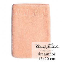 Christian Fischbacher Žínka 15 x 20 cm lososová Dreamflor®, Fischbacher