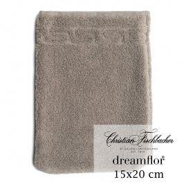 Christian Fischbacher Žínka 15 x 20 cm béžovošedá Dreamflor®, Fischbacher