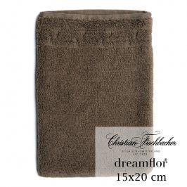 Christian Fischbacher Žínka 15 x 20 cm hnědá Dreamflor®, Fischbacher
