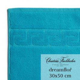 Christian Fischbacher Ručník pro hosty 30 x 50 cm azurový Dreamflor®, Fischbacher