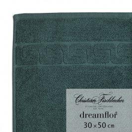Christian Fischbacher Ručník pro hosty 30 x 50 cm smaragdový Dreamflor®, Fischbacher