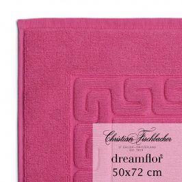 Christian Fischbacher Koupelnová předložka 50 x 72 cm purpurová Dreamflor®, Fischbacher