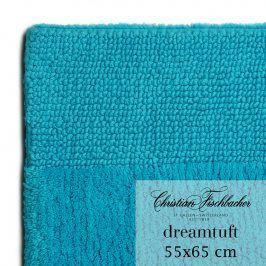 Christian Fischbacher Koupelnový kobereček 55 x 65 cm azurový Dreamtuft, Fischbacher