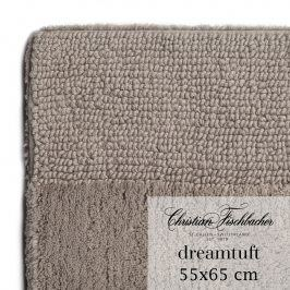 Christian Fischbacher Koupelnový kobereček 55 x 65 cm béžovošedý Dreamtuft, Fischbacher