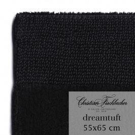 Christian Fischbacher Koupelnový kobereček 55 x 65 cm černý Dreamtuft, Fischbacher
