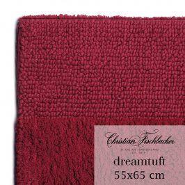 Christian Fischbacher Koupelnový kobereček 55 x 65 cm bordeaux Dreamtuft, Fischbacher