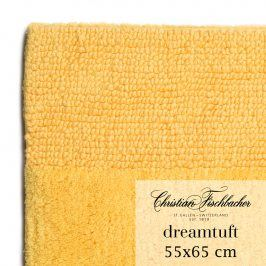 Christian Fischbacher Koupelnový kobereček 55 x 65 cm žlutý Dreamtuft, Fischbacher