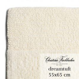 Christian Fischbacher Koupelnový kobereček 55 x 65 cm krémový Dreamtuft, Fischbacher