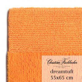 Christian Fischbacher Koupelnový kobereček 55 x 65 cm oranžový Dreamtuft, Fischbacher