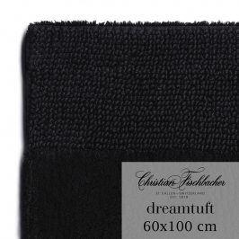 Christian Fischbacher Koupelnový kobereček 60 x 100 cm černý Dreamtuft, Fischbacher