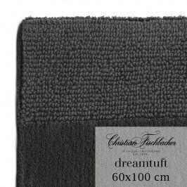 Christian Fischbacher Koupelnový kobereček 60 x 100 cm antracitový Dreamtuft, Fischbacher