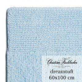 Christian Fischbacher Koupelnový kobereček 60 x 100 cm nebesky modrý Dreamtuft, Fischbacher
