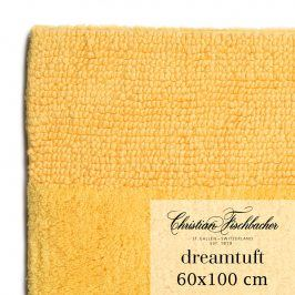 Christian Fischbacher Koupelnový kobereček 60 x 100 cm žlutý Dreamtuft, Fischbacher