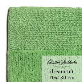 Christian Fischbacher Koupelnový kobereček 70 x 130 cm zelený Dreamtuft, Fischbacher