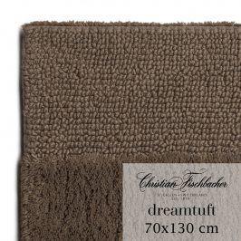 Christian Fischbacher Koupelnový kobereček 70 x 130 cm hnědý Dreamtuft, Fischbacher