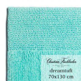 Christian Fischbacher Koupelnový kobereček 70 x 130 cm tyrkysový Dreamtuft, Fischbacher