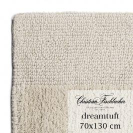 Christian Fischbacher Koupelnový kobereček 70 x 130 cm pískový Dreamtuft, Fischbacher