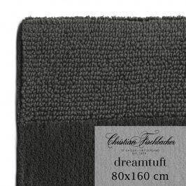 Christian Fischbacher Koupelnový kobereček 80 x 160 cm antracitový Dreamtuft, Fischbacher