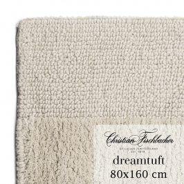 Christian Fischbacher Koupelnový kobereček 80 x 160 cm pískový Dreamtuft, Fischbacher
