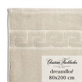 Christian Fischbacher Osuška do sauny 80 x 200 cm písková Dreamflor®, Fischbacher
