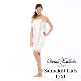 Christian Fischbacher Dámský sarong do sauny L/XL Dreamflor®, Fischbacher