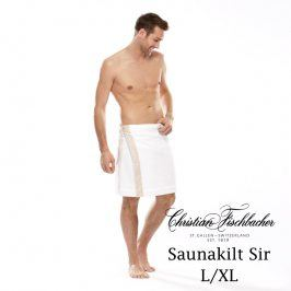 Christian Fischbacher Pánský sarong do sauny L/XL Dreamflor®, Fischbacher