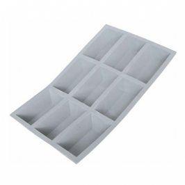 de Buyer Profi silikonová forma na 9 jednoporcových bochánků Elastomoule®