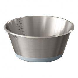 de Buyer Kuchyňská nerezová miska Ø 28 cm se silikonovým dnem