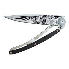 deejo Kapesní nůž biker 37 g granadilla Latino skull