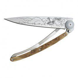 deejo Kapesní nůž ocean 37 g juniper High seas
