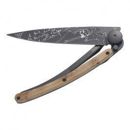 deejo Kapesní nůž outdoor black 37 g juniper Ski