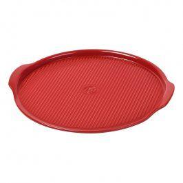 Emile Henry Plát na pečení a servírování pizzy Ø 34 cm červený Burgundy