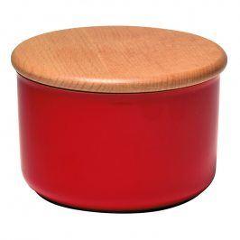 Emile Henry Dóza na koření/potraviny červená Burgundy Ø 15 cm