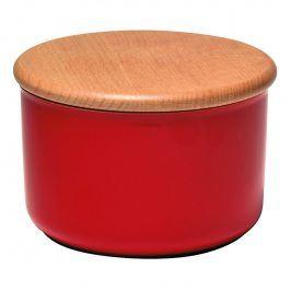 Emile Henry Dóza na koření/potraviny červená Burgundy Ø 13 cm