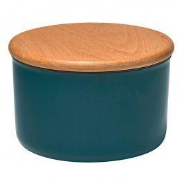 Emile Henry Dóza na koření/potraviny modrá Blue Flame Ø 15 cm