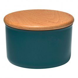 Emile Henry Dóza na koření/potraviny modrá Blue Flame Ø 13 cm
