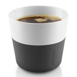 Eva Solo Termohrnky na kávu Lungo 230 ml 2 kusy karbonově černé